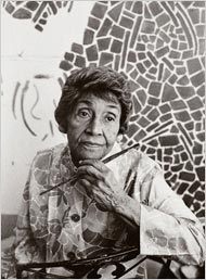 Alma Thomas - via AP