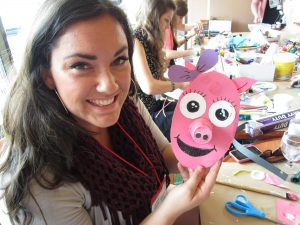 Every Abrakadoodle conference provides teachers, managers and franchise owners with opportunities to get creative with hands-on art activities.