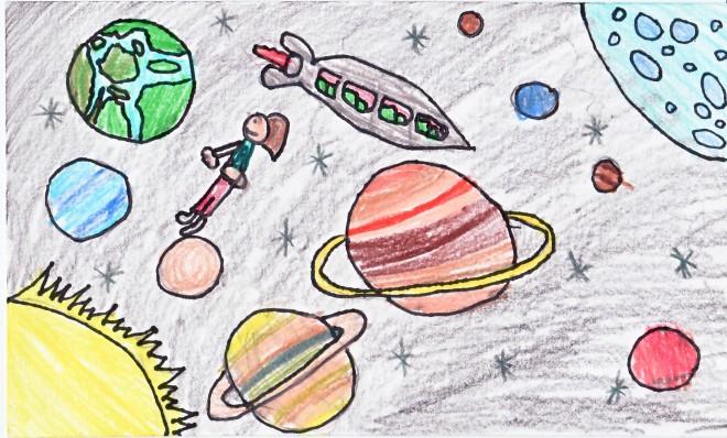 Art Helps Kids Access the Sun, Moon, Stars