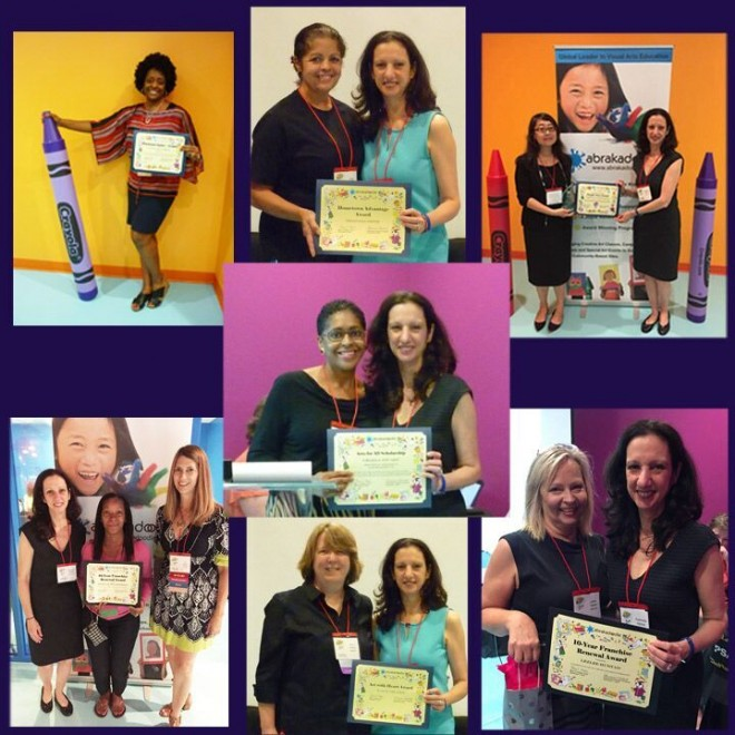 Abrakadoodle's 'Color Me Successful' Conference Recognizes Franchisee Performance