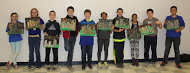 Finished City Scapes, inspired by Van Gogh