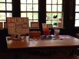 Abrakadoodle student art was showcased as part of the Prince William Forest Park Heritage Festival.