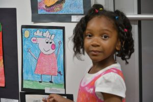 Abrakadoodle-Metro Detroit hosted an art show at TechTown, featuring student art from 16 participating schools!
