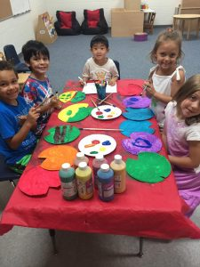 Atlanta - arts and crafts camp kids