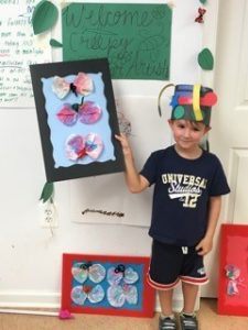 PW boy shows off creative projects