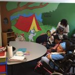 Abrakadoodle Art Teachers Team-Up to Transform Special Needs Center