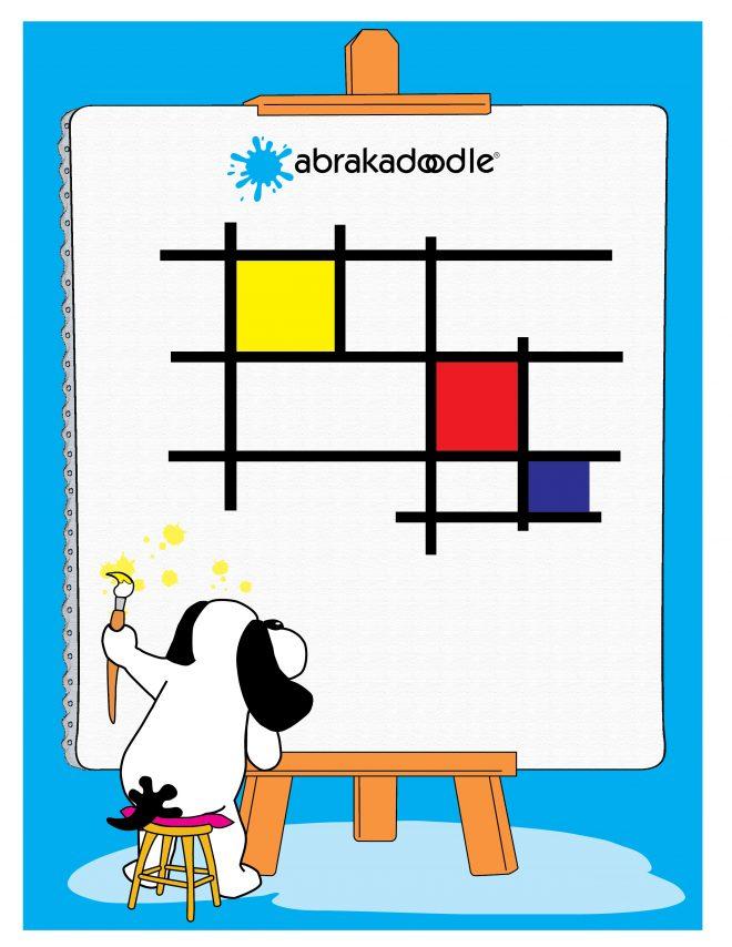 Art Uplifts Us! Abrakadoodle Announces Its Weekly Splat Doodle Challenge