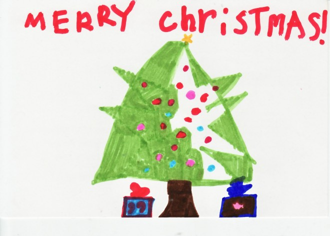 Holiday Decorating with Your Child's Art