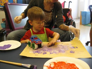 In 2013, Arts for All funded fall classes for Pre-K students with special needs at Ridge Ruxton School in Towson, MD.