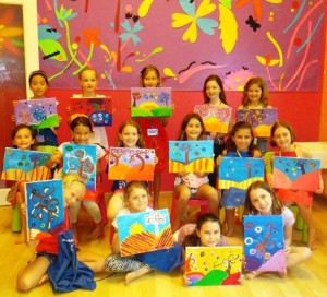 Creative art education enables students to think, design, problem-solve and create original works.