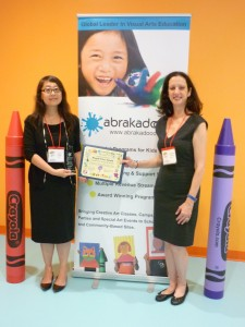Alice Wang (left) is the new CEO of Abrakadoodle with Rosemarie Hartnett, President and Co-Founder of Abrakadoodle