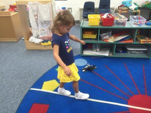Campers love creating art and getting active with games and activities that fit the theme, which in this case is walking the tightrope in Abrakadoodle's Big Tent Circus Camp!
