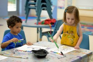 Howard County - 2 kids get creative at beach party camp
