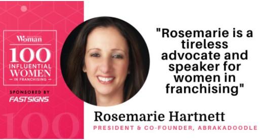 Rosemarie Hartnett Named Among 100 Influential Women in Franchising