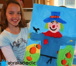 Abrakadoodle after school students enjoy the joy of creating original art.
